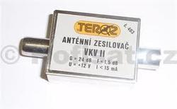 Zesilovač Teroz, FM, +24dB IEC konektory