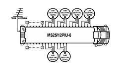 Multipřepínač MS25/12PIU-6 - 2