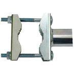 Držák antény 20cm EKO, (na balkón 25-75mm), trubka 42/2mm, zinek Galva - 2/3