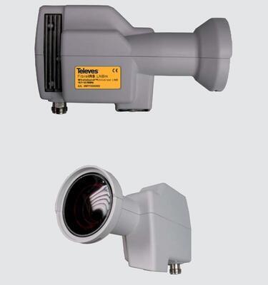 236801 Kit optické LNB s DVB-T vstupem + optický konvertor ODU32  - 3